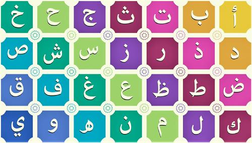 Arabic letters GH